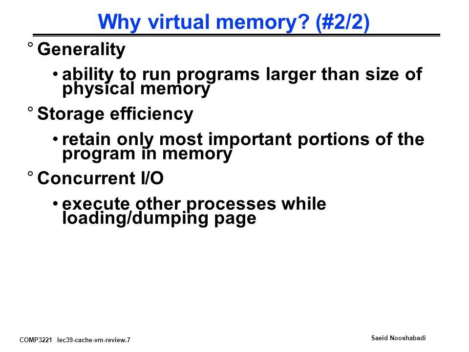 Why virtual memory (#2/2)