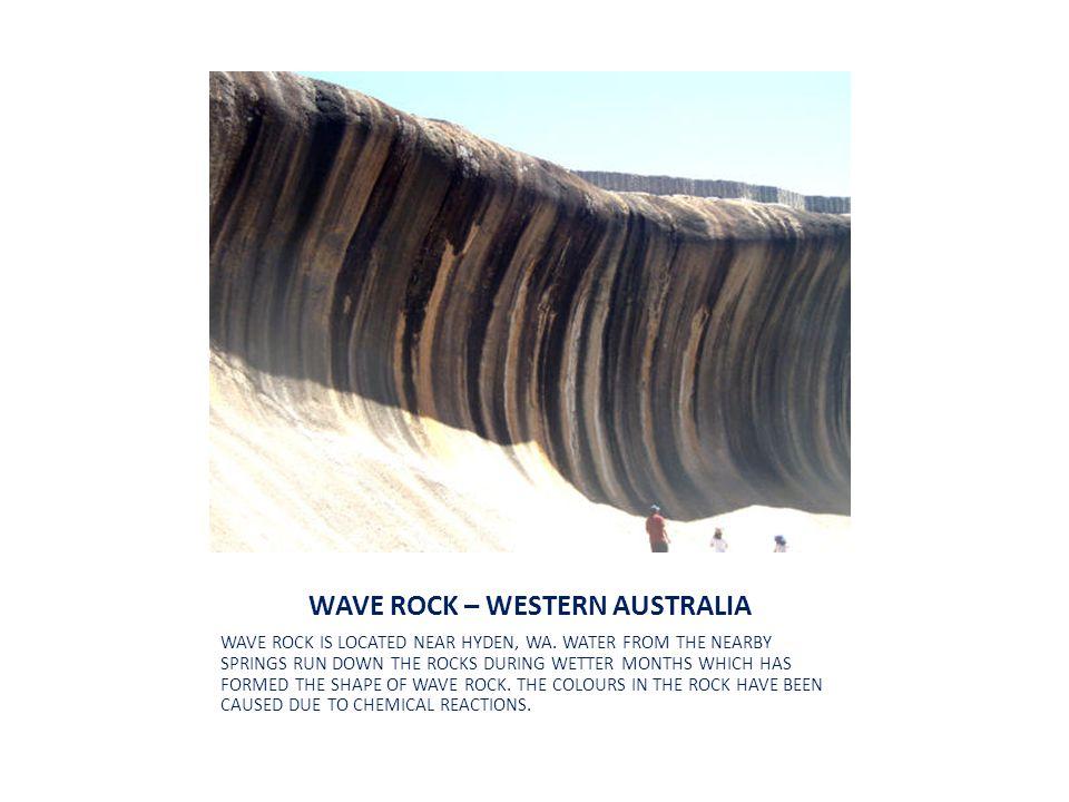 WAVE ROCK – WESTERN AUSTRALIA