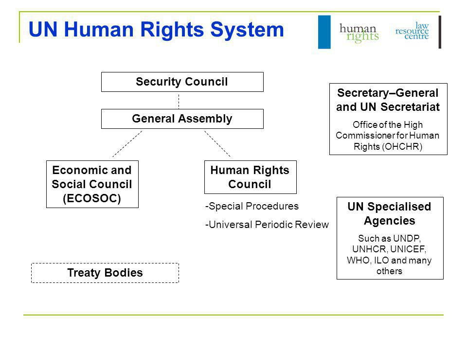 UN Human Rights System Security Council