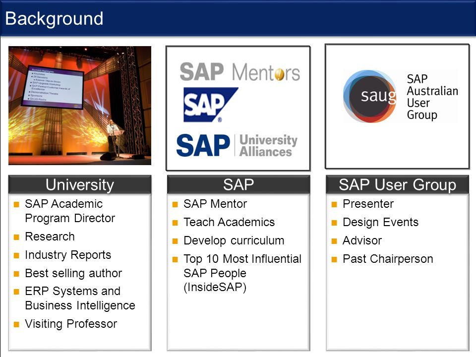 SAP University Alliance Program (UAP)