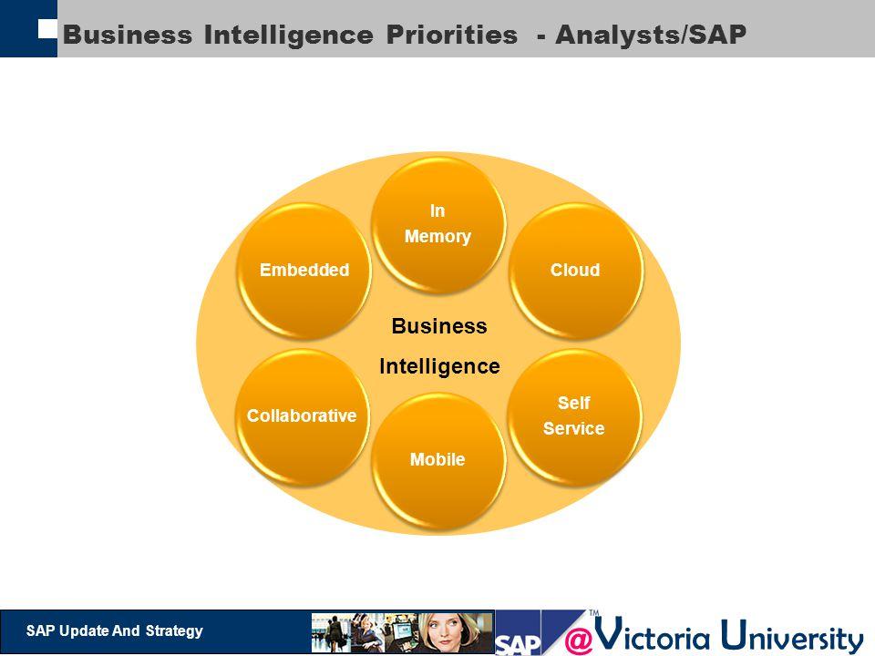 Business Intelligence Priorities - Analysts/SAP