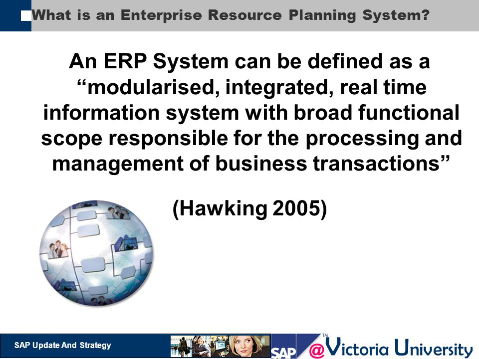 What is an Enterprise Resource Planning System