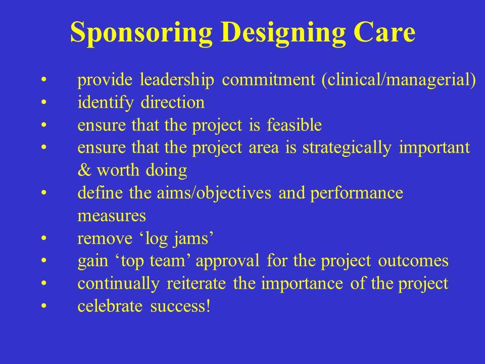Sponsoring Designing Care