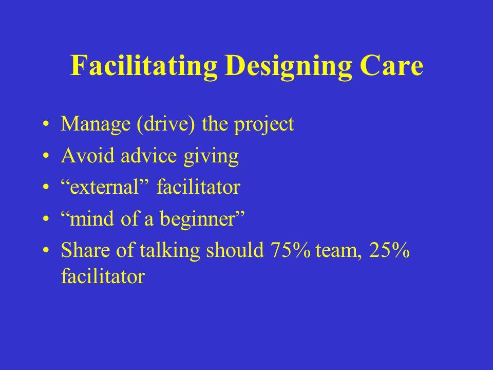 Facilitating Designing Care