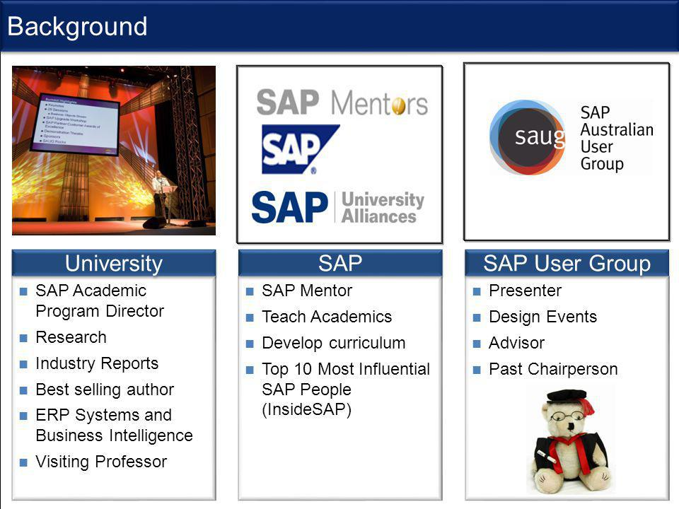 SAP University Alliance Program (UAP)