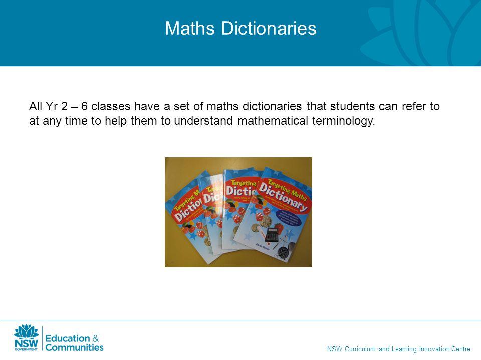 Maths Dictionaries