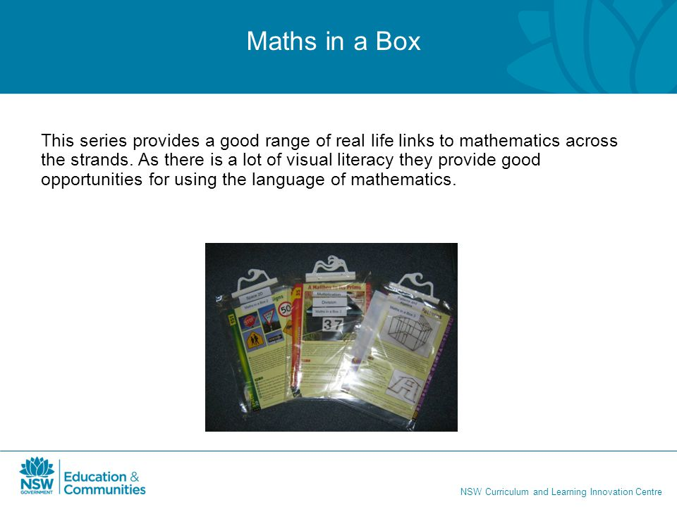 Maths in a Box