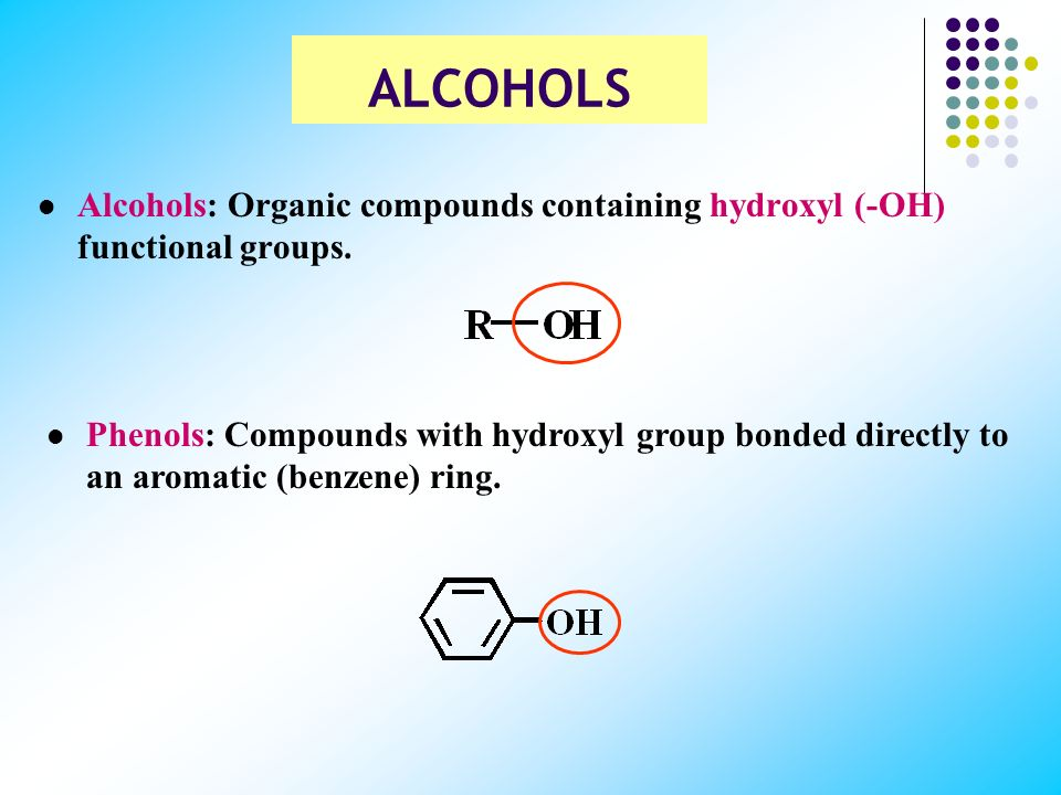 the chemistry of hydroxyl group Hydroxyl group | hydroxyl groups in chemistry, functional group that consists of an oxygen atom joined by a single bond to a hydrogen atom an alcohol is formed when a hydroxyl group.