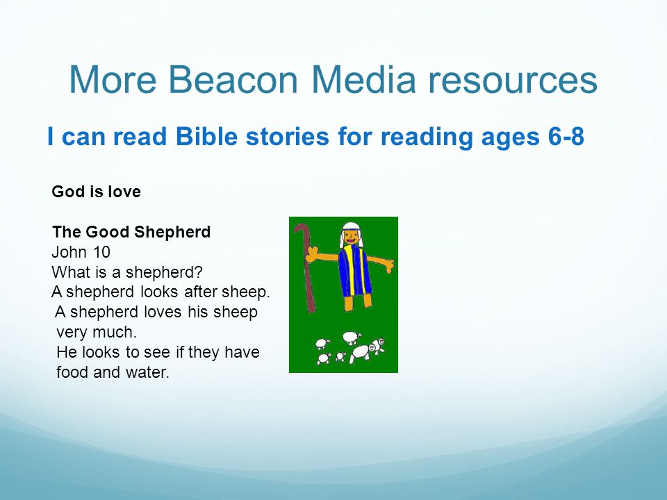 More Beacon Media resources