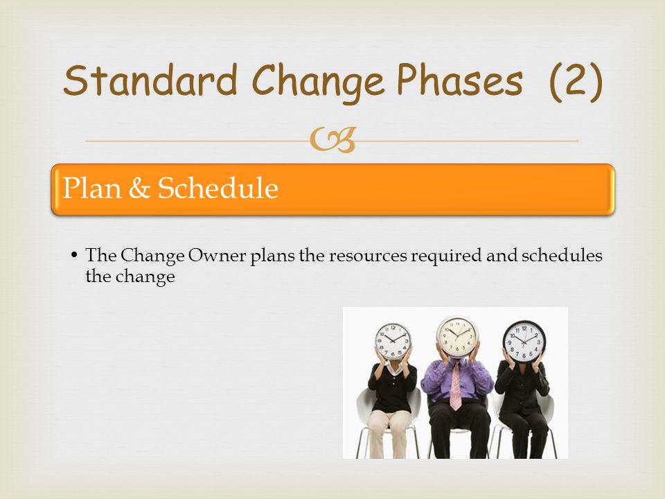 Standard Change Phases (2)