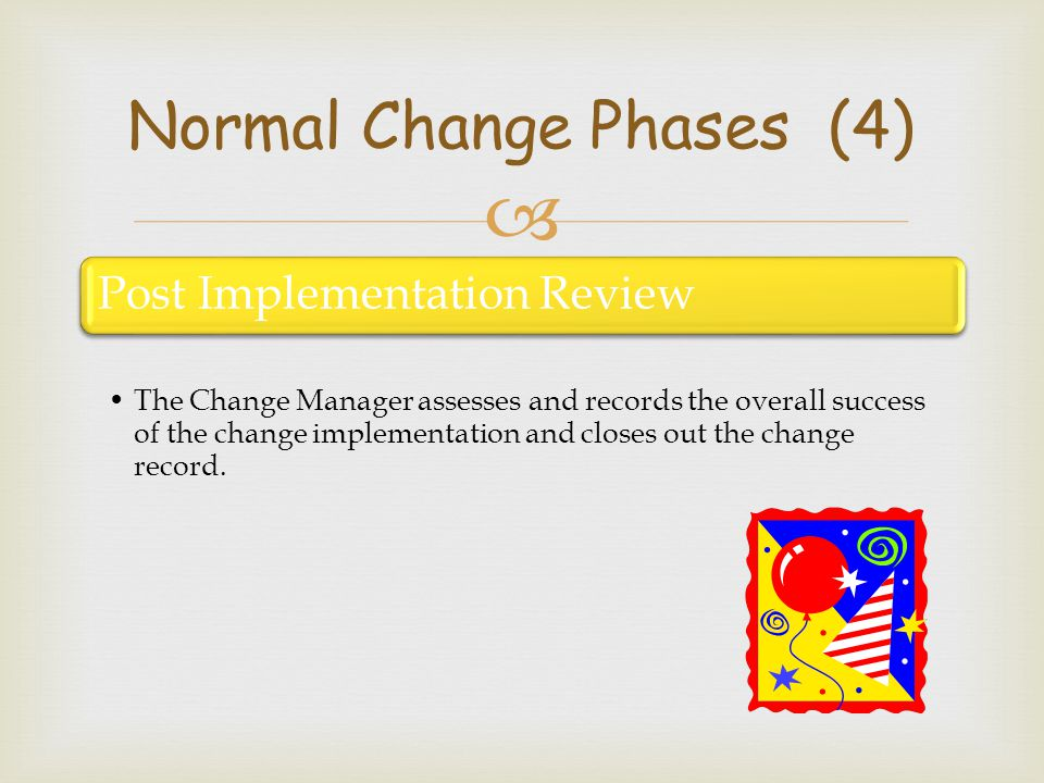 Normal Change Phases (4)