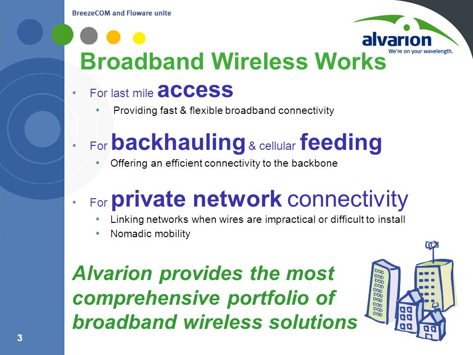 Broadband Wireless Works