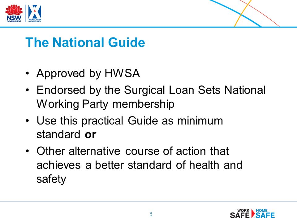 The National Guide Approved by HWSA