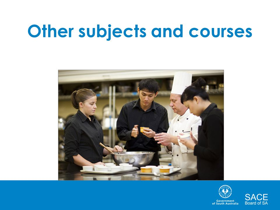 Other subjects and courses