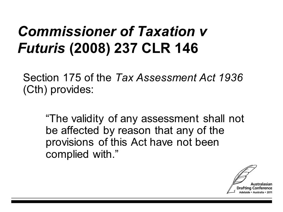Commissioner of Taxation v Futuris (2008) 237 CLR 146