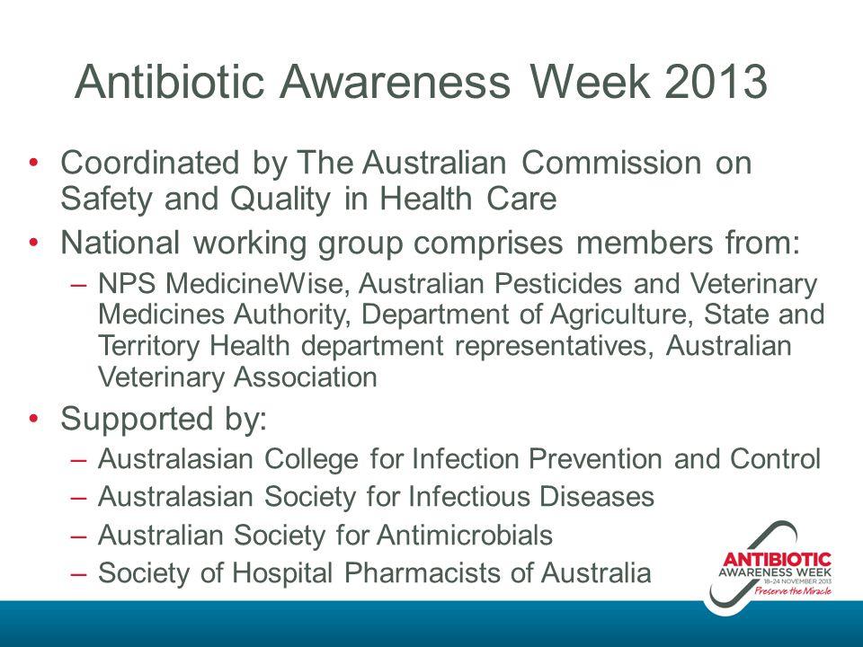 Antibiotic Awareness Week 2013