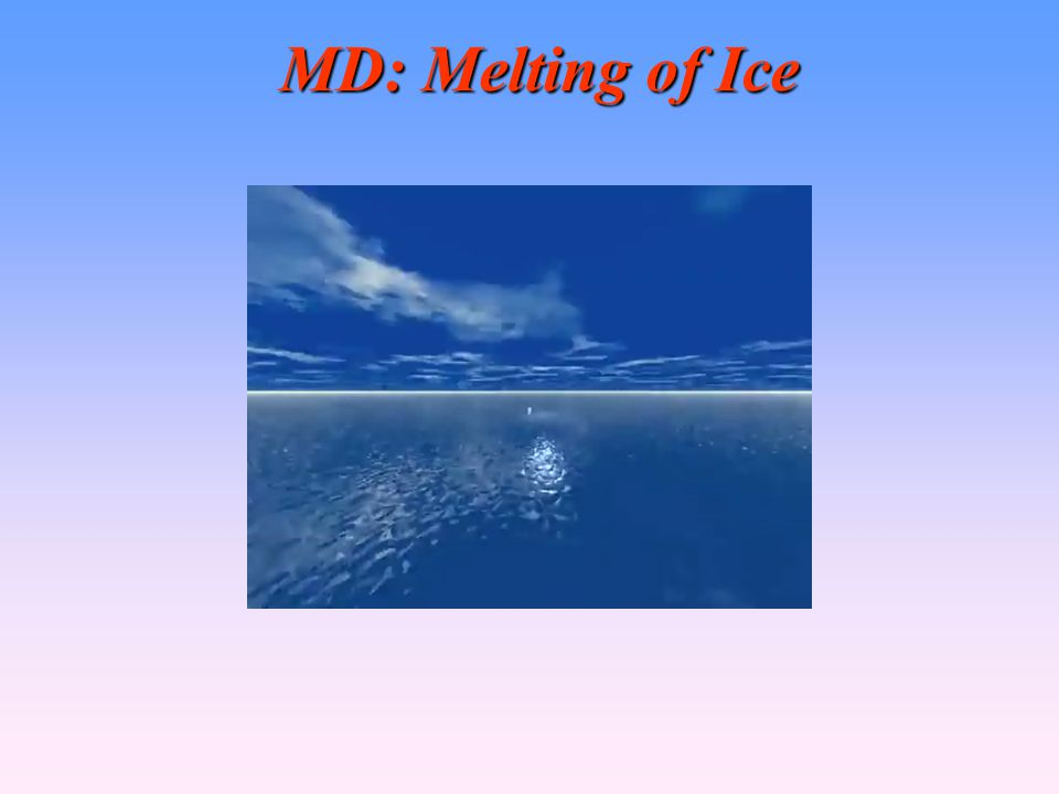 MD: Melting of Ice 42