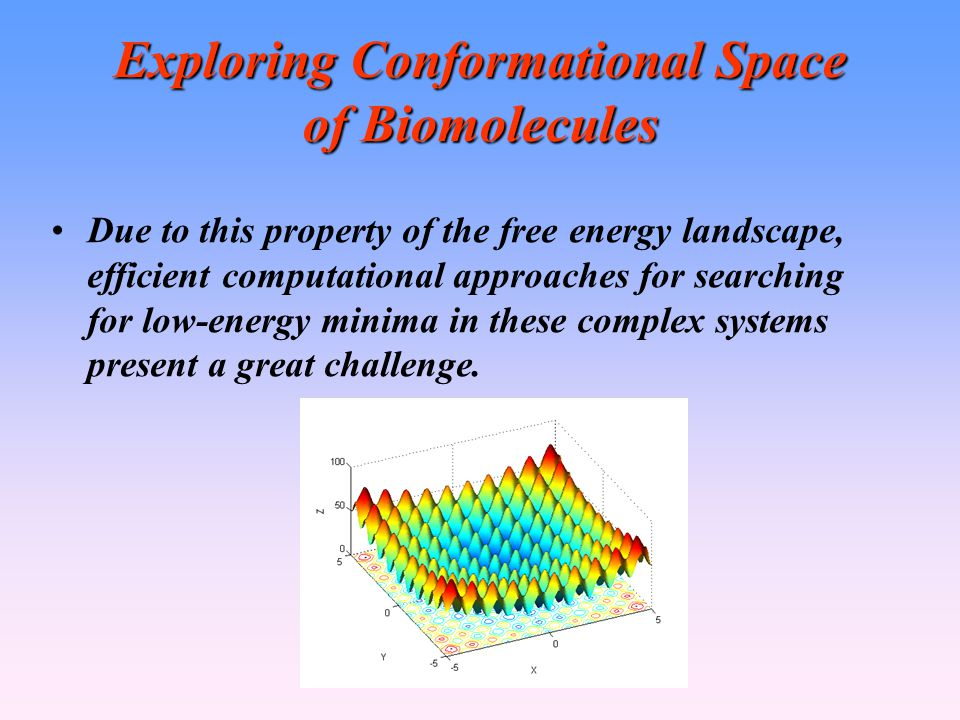 Exploring Conformational Space of Biomolecules