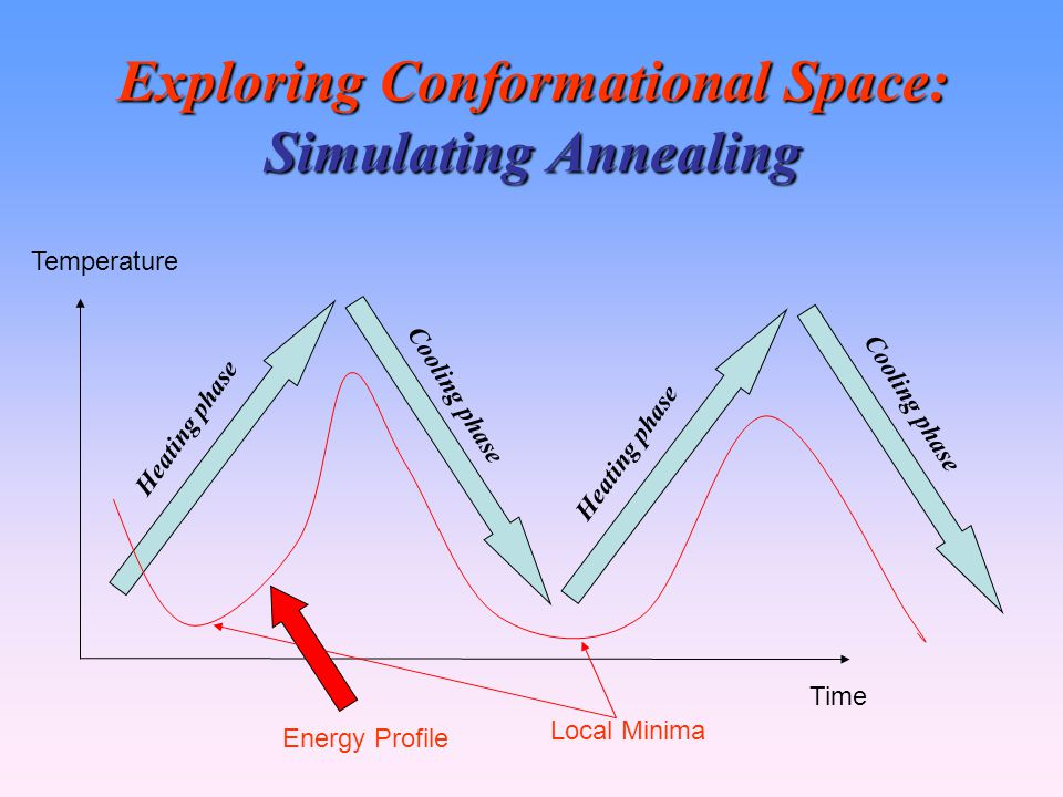 Exploring Conformational Space: Simulating Annealing