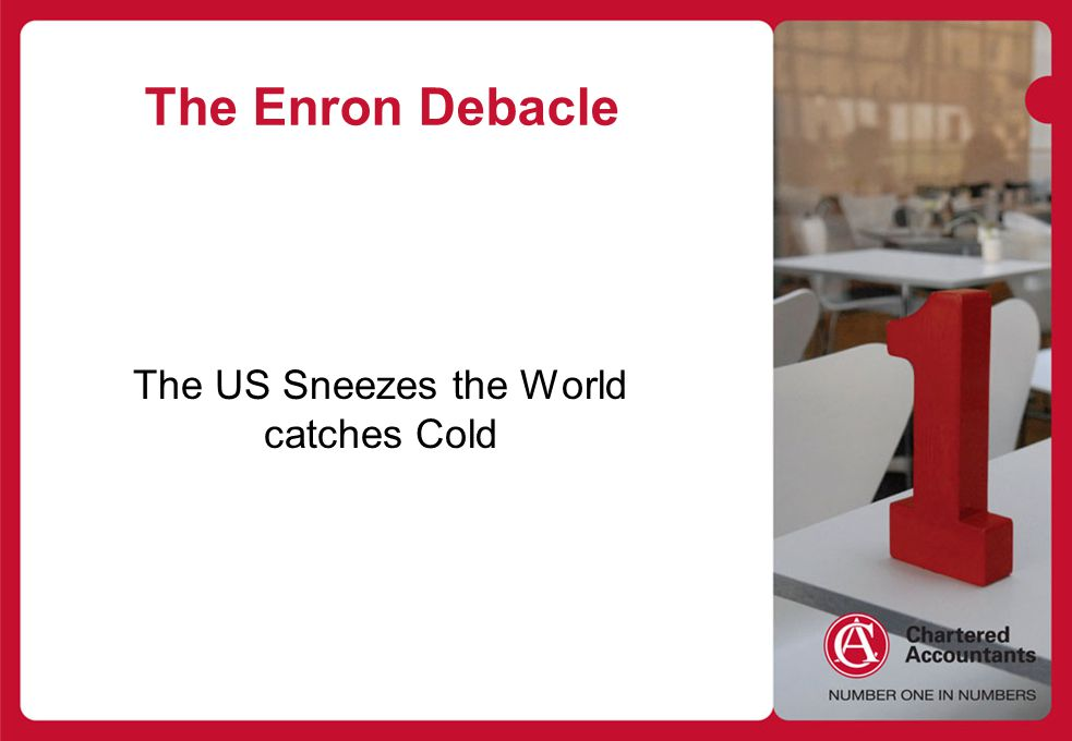 The US Sneezes the World catches Cold