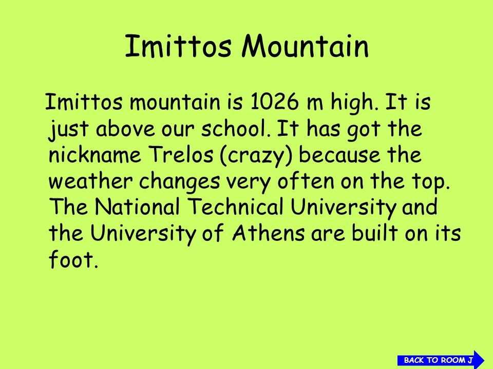Imittos Mountain