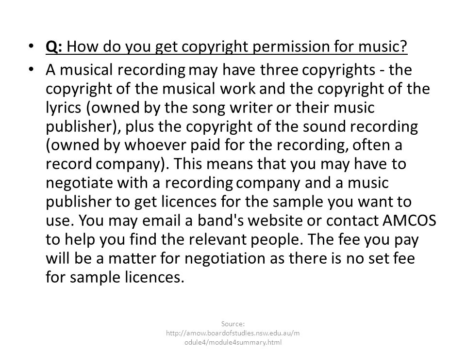 Do you have to pay for a copyright