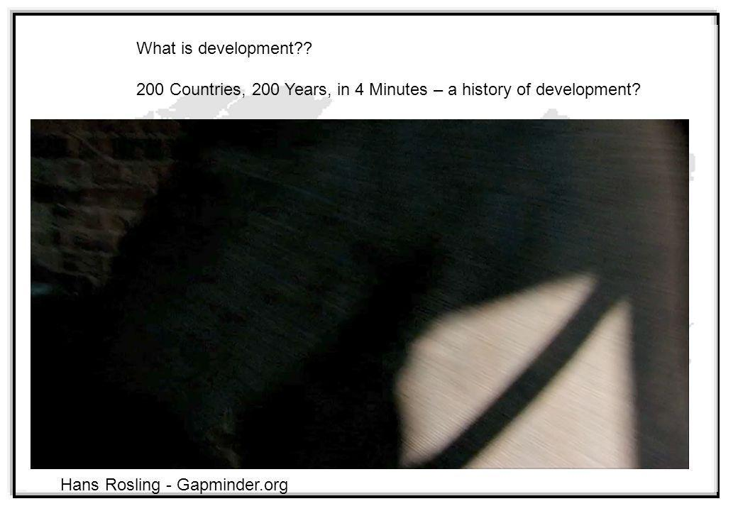 200 Countries, 200 Years, in 4 Minutes – a history of development