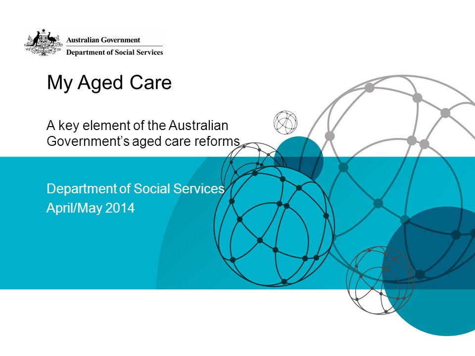 Department of Social Services April/May 2014