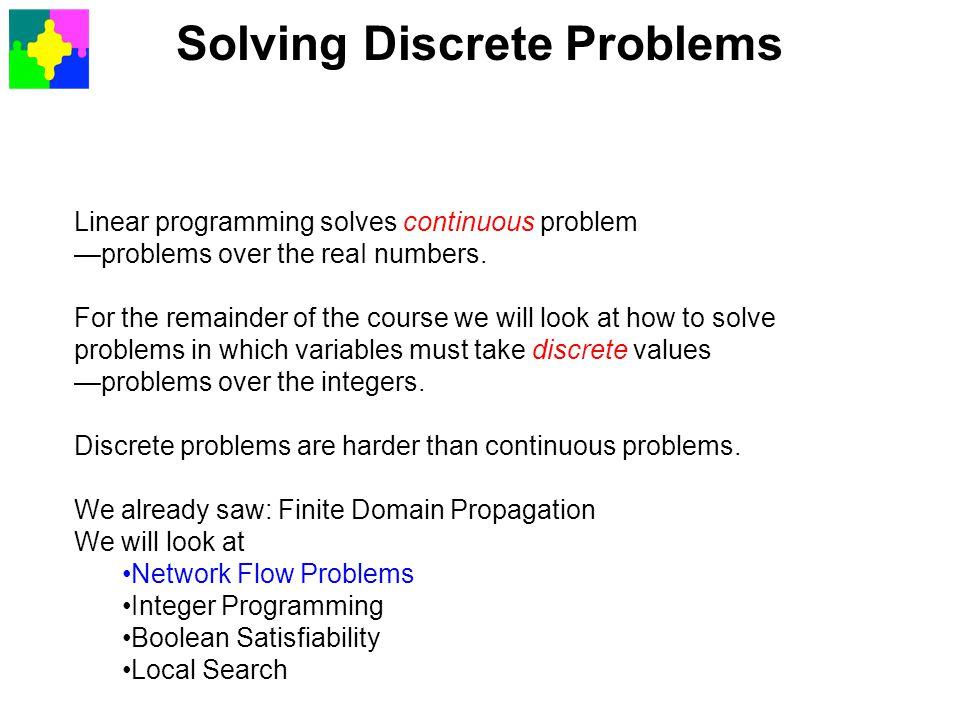 Solving Discrete Problems