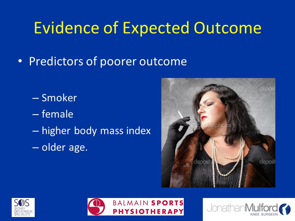 Evidence of Expected Outcome