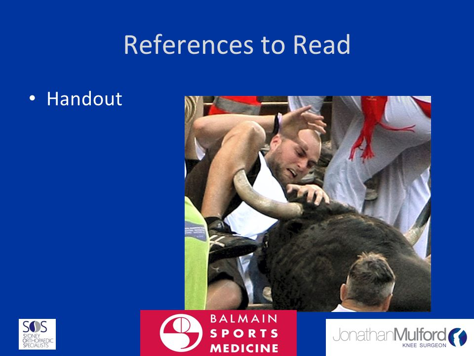 References to Read Handout