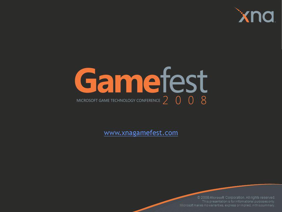 www.xnagamefest.com 4/6/2017 5:47 AM
