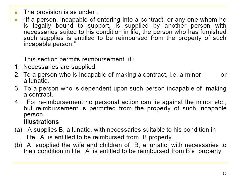 The provision is as under :