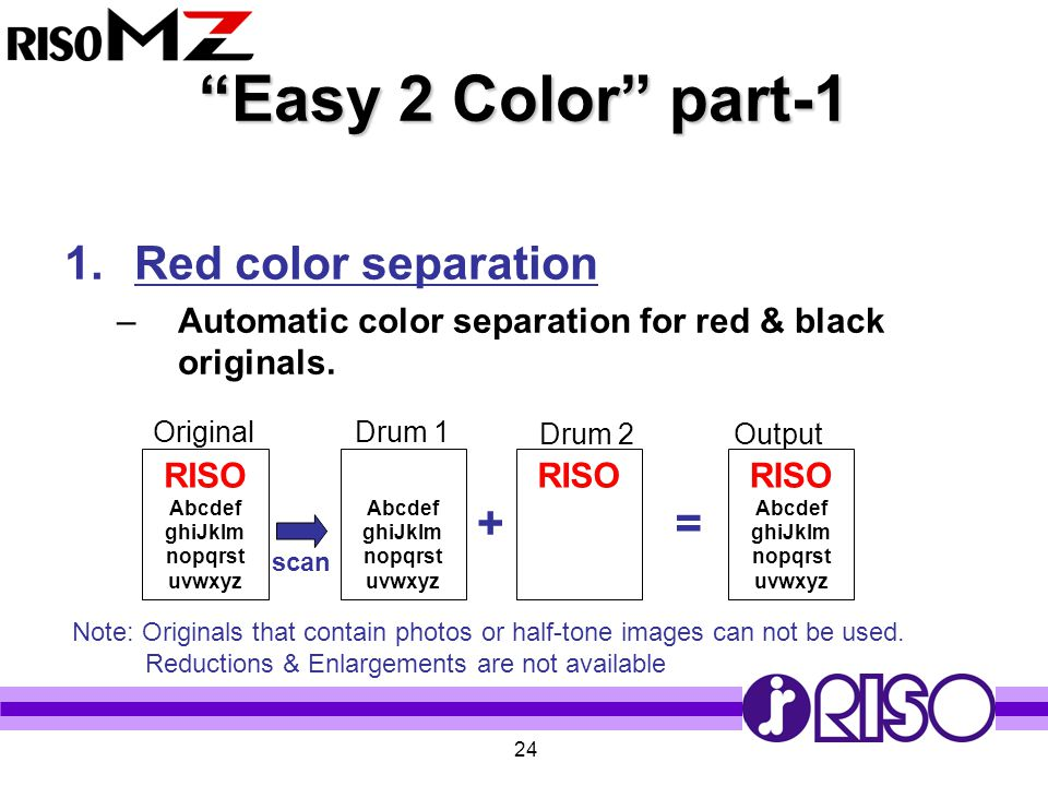 Easy 2 Color part-1 Red color separation + =