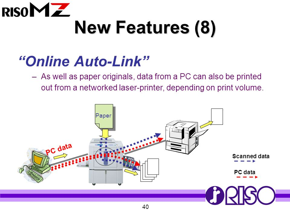 New Features (8) Online Auto-Link