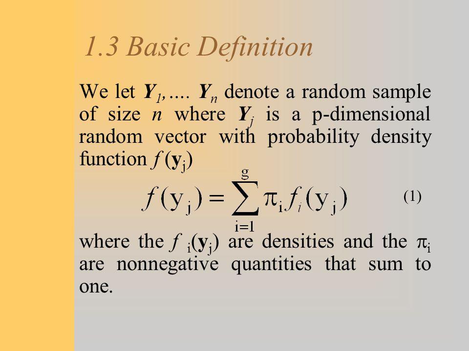 1.3 Basic Definition