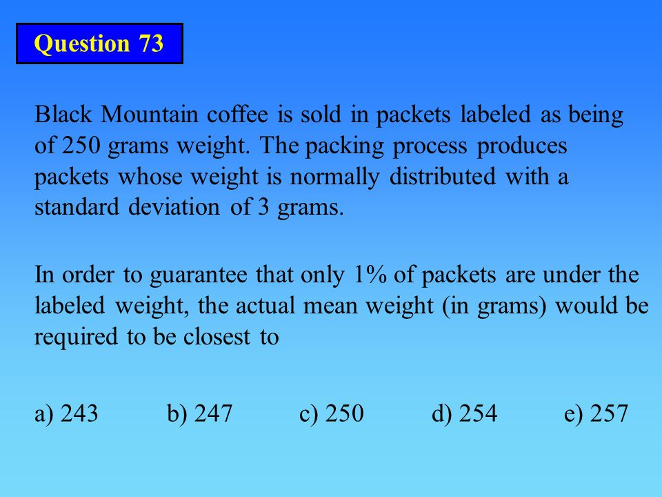 Question 73