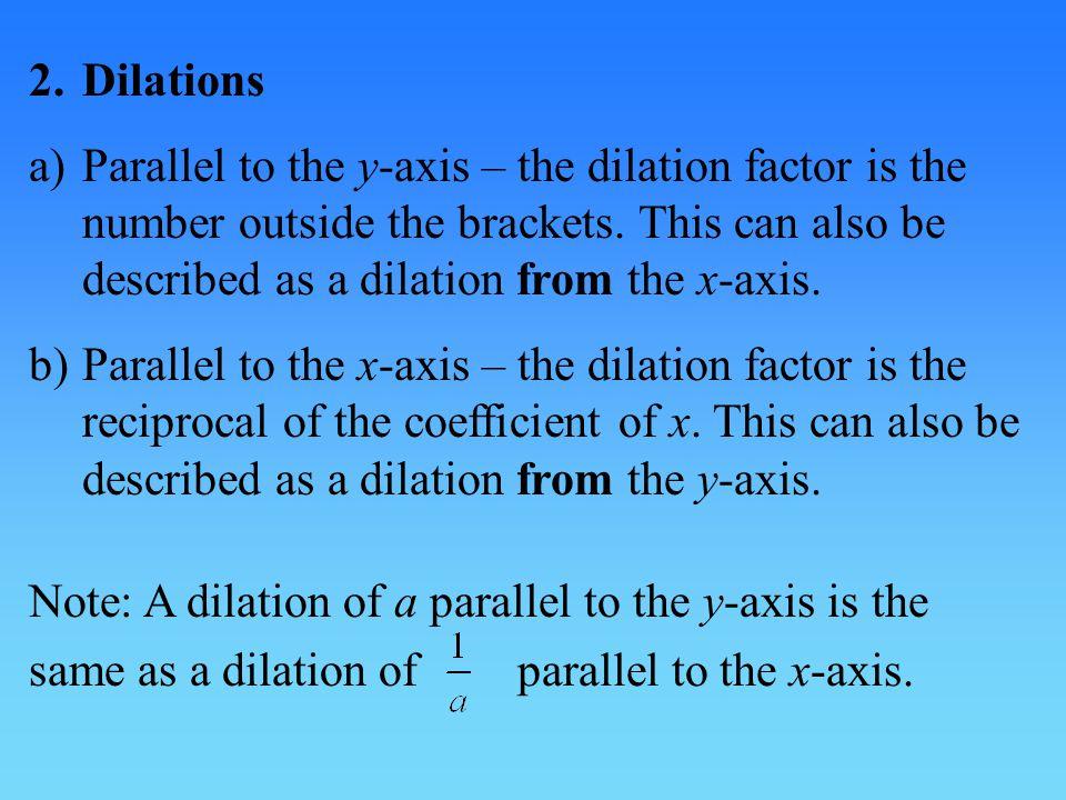 2. Dilations