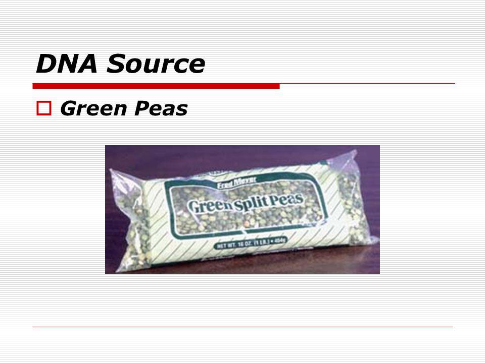 DNA Source Green Peas