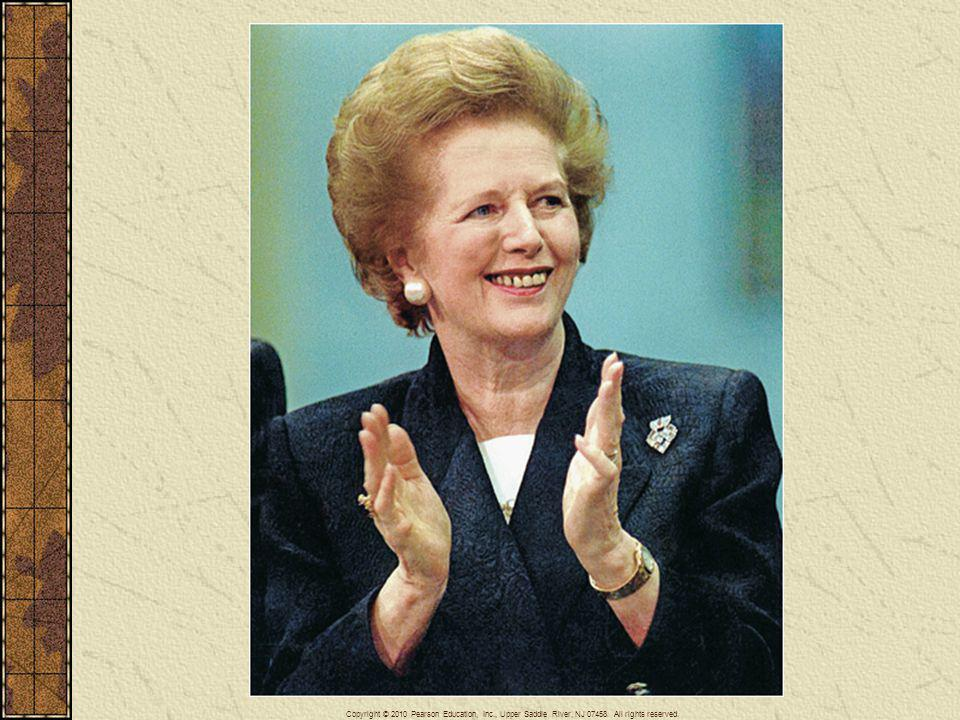 Margaret Thatcher, a shopkeeper s daughter who became the first female prime minister of Great Britain, served in that office from May 1979 through November 1990. Known as the Iron Lady of British politics, she led the Conservative Party to three electoral victories and carried out extensive restructuring of the British government and economy.