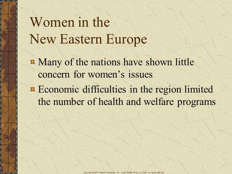 Women in the New Eastern Europe