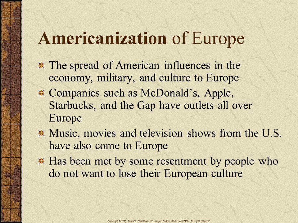 Americanization of Europe