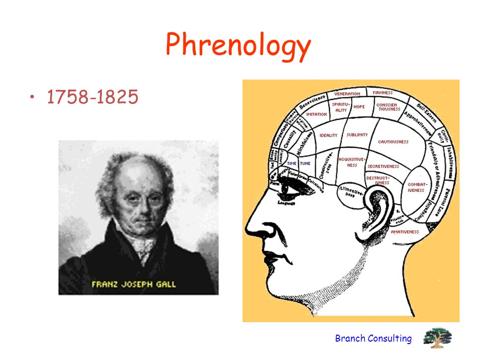 Phrenology 1758-1825