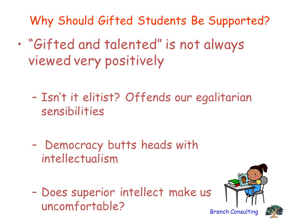 Why Should Gifted Students Be Supported