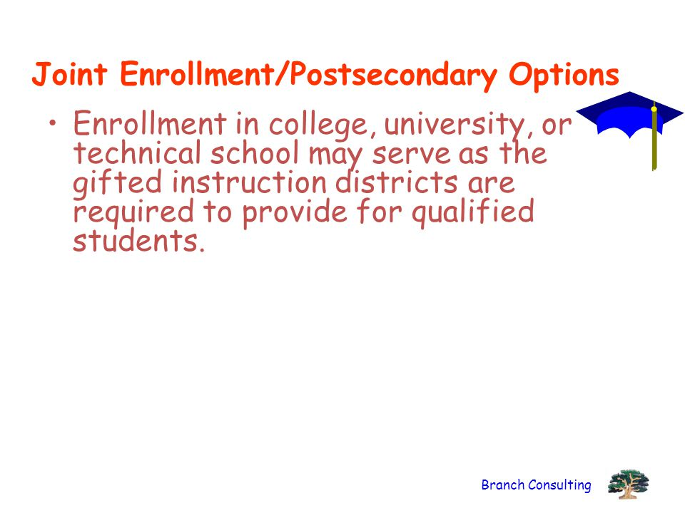 Joint Enrollment/Postsecondary Options