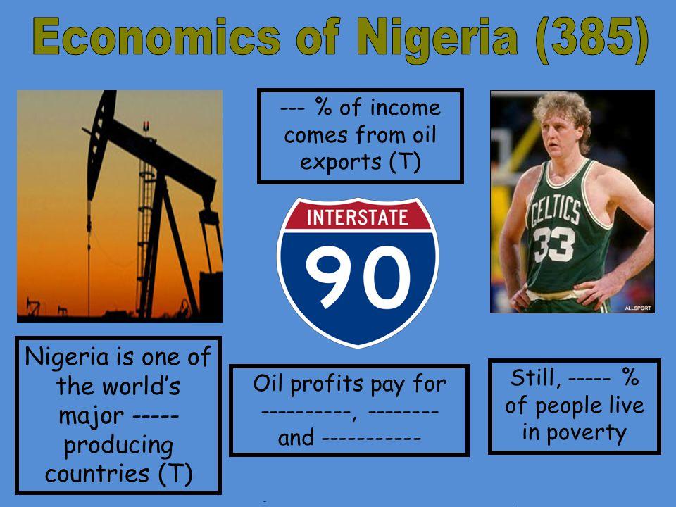 Economics of Nigeria (385)