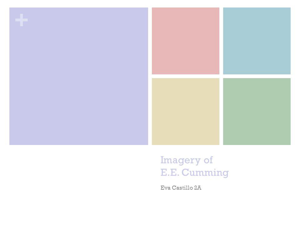 Imagery of E.E. Cumming Eva Castillo 2A