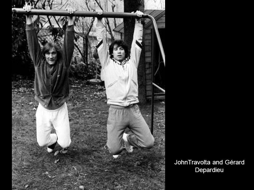JohnTravolta and Gérard Depardieu