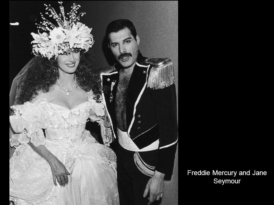 Freddie Mercury and Jane Seymour