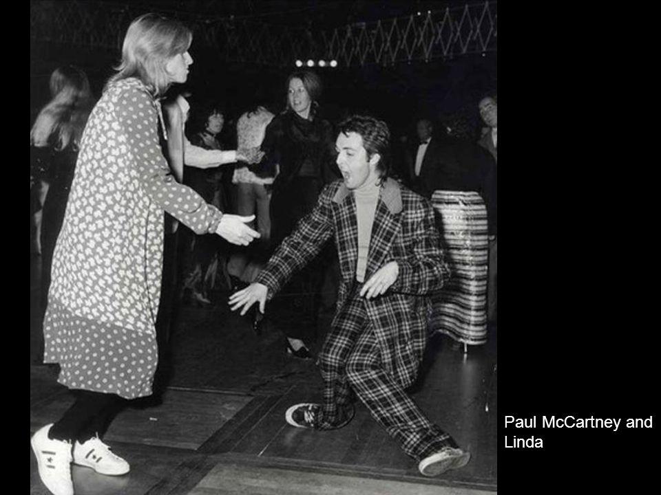 Paul McCartney and Linda